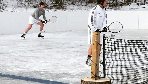 winter tennis